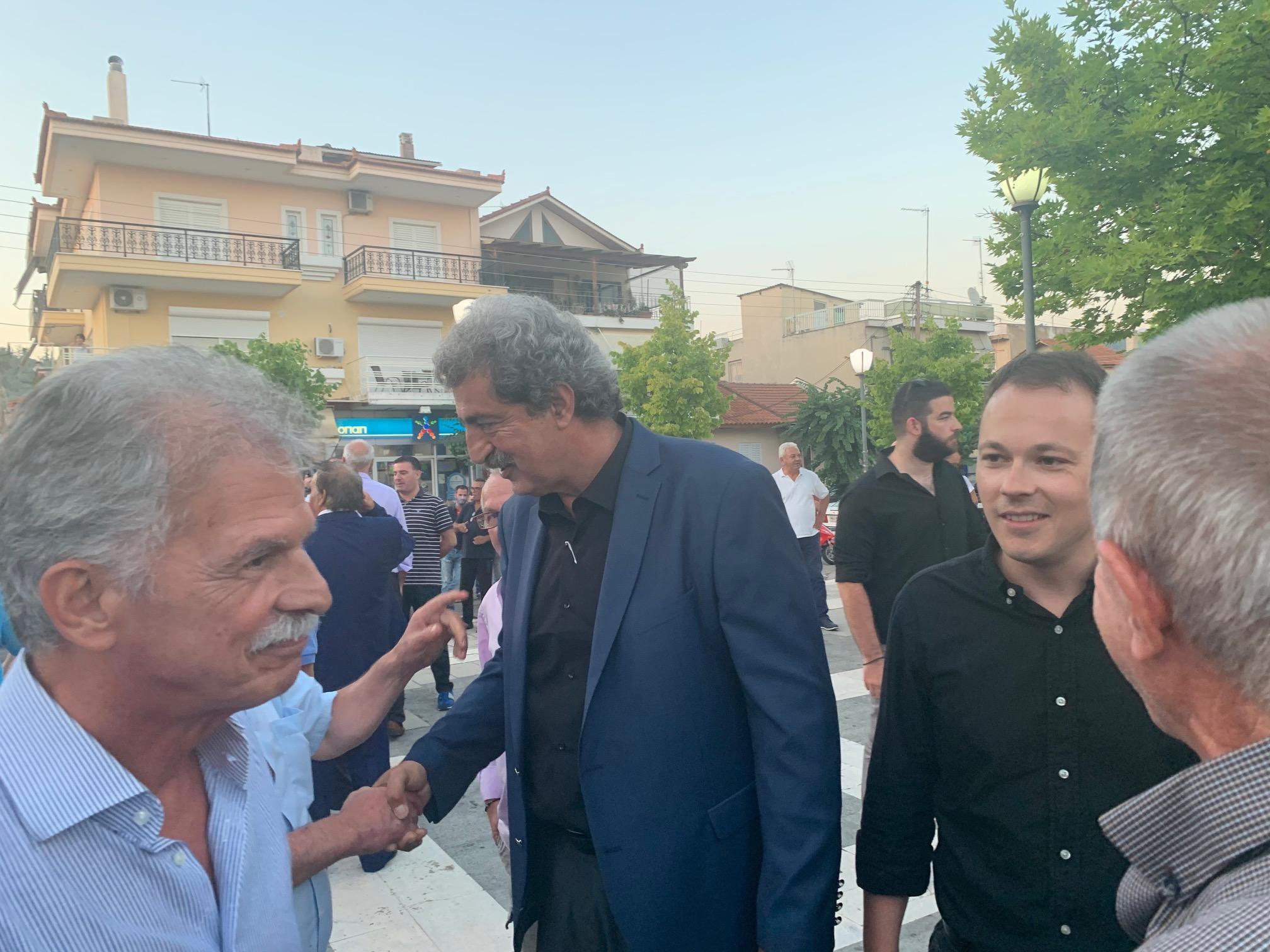 Εκδήλωση ΣΥΡΙΖΑ με Πολάκη στο Αγρίνιο και εφ' όλης της ύλης κριτική στην Κυβέρνηση