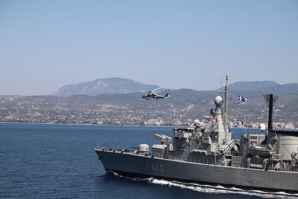 ΓΕΕΘΑ: Αμετάβλητες οι κινήσεις του τουρκικού Ναυτικού στο Αιγαίο