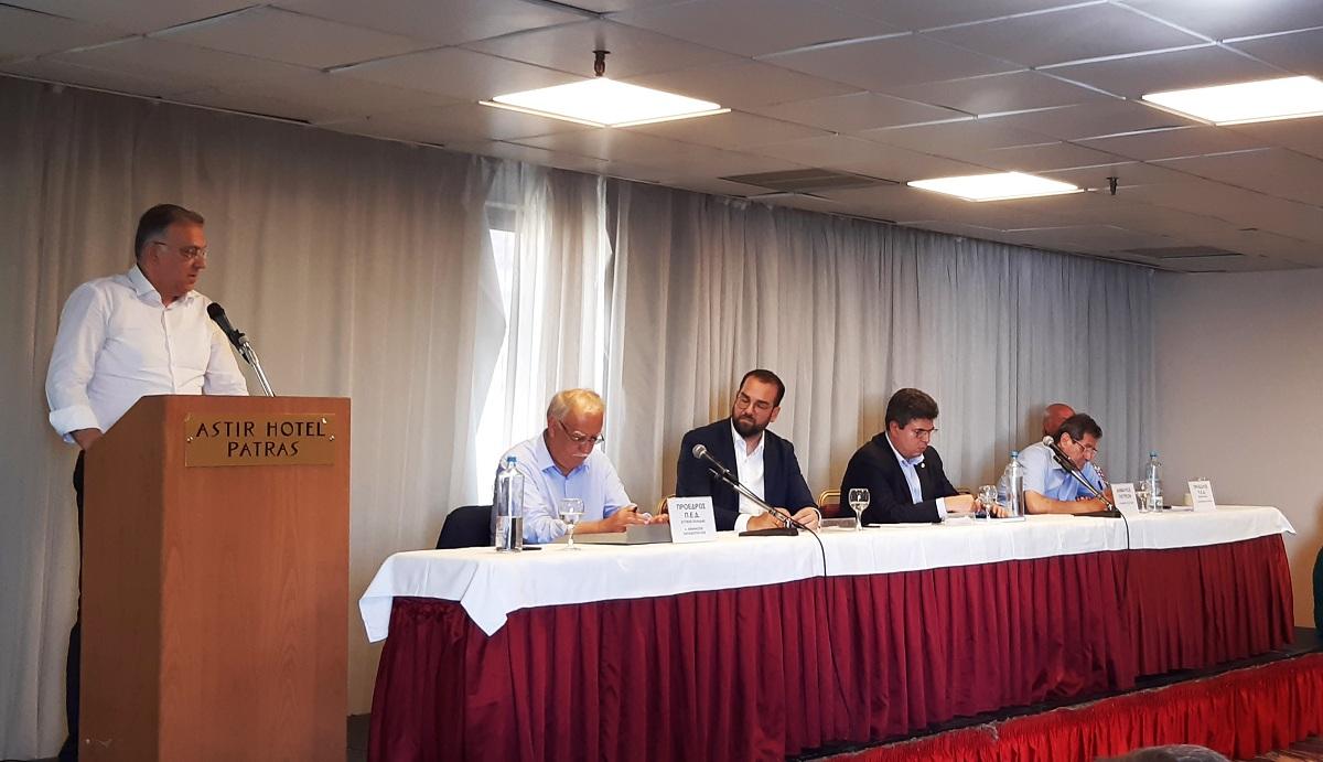 """Παρουσιάστηκε το πρόγραμμα """"Αντώνης Τρίτσης"""" στους αιρετούς της Δυτικής Ελλάδας"""