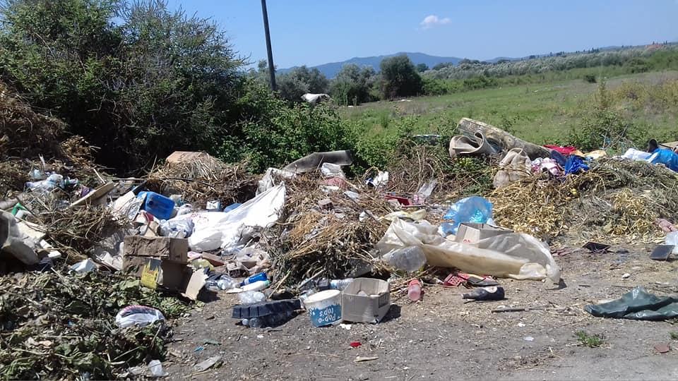 """Καινούργιο: Η παραλίμνια περιοχή της Τριχωνίδας """"πνίγεται"""" στα σκουπίδια"""
