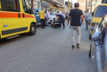 Νέος τραυματισμός δικυκλιστή από τροχαίο στο Αγρίνιο