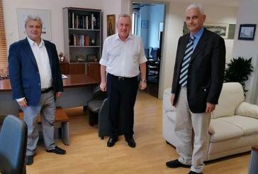 Συνάντηση του Αντιπεριφερειάρχη, Φ. Ζαΐμη με τον Γ.Γ. Έρευνας και Καινοτομίας, Αθανάσιο Κυριαζή
