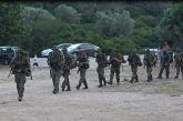 """Σκηνικό """"πολέμου"""" σε παραλία της Αιτωλοακαρνανίας (φωτό)"""