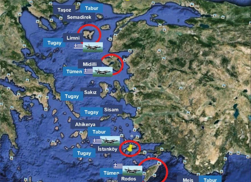 Ελληνοτουρκικά – Προκαλεί η Yeni Safak: «Σε περίπτωση πολέμου, πρώτος στόχος τα νησιά»