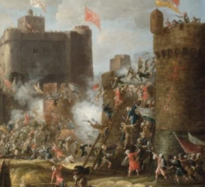 """""""Κλεψιά"""": Η τακτική κατάληψης των Ακαρνανικών κάστρων το 1400-1404  με χρήση σκάλας"""