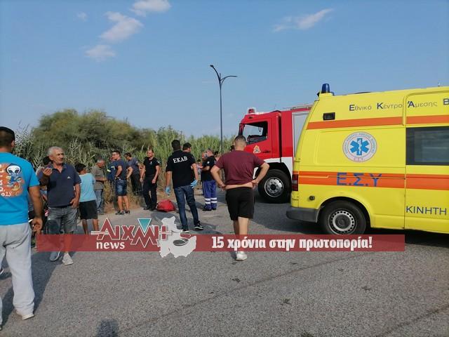 """Μεσολόγγι: """"Βουτιά"""" στον αύλακα στην περιοχή Αλμυράκι έκανε ΙΧ αυτοκίνητο -Σώος ο οδηγός"""