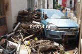 Εύβοια: Εικόνες βιβλικής καταστροφής από το πέρασμα της φονικής κακοκαιρίας – Θρήνος για τους 5 νεκρούς