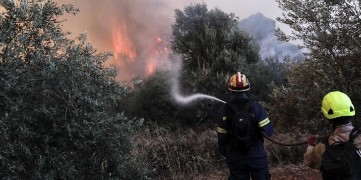 «Συναγερμός» στην Πυροσβεστική για φωτιά στο Άνω Κεράσοβο Μακρυνείας