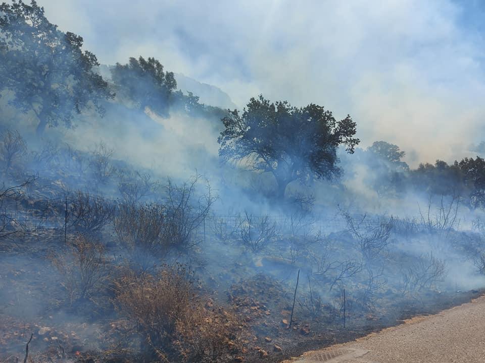 Πυρκαγιά στα Πηγάδια Ξηρομέρου