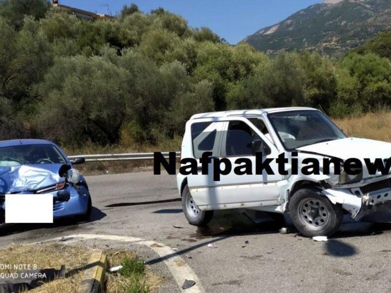 Τροχαίο ατύχημα στην περιμετρική Ναυπάκτου