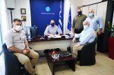 Σημαντικά έργα υποδομών απασχόλησαν την συνάντηση Λύρου – Φαρμάκη