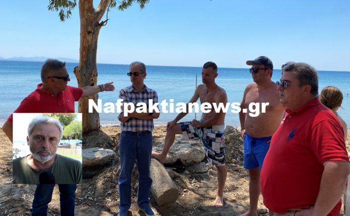 Μακύνεια: Κινητοποίηση για παράνομη περίφραξη στην παραλία μετά από καταγγελία πολιτών