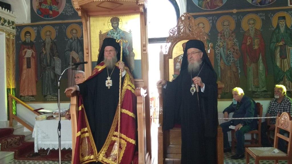 Με κατάνυξη ο εορτασμός του Αγίου Κοσμά του Αιτωλού στη γενέτειρά του