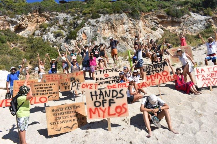 Κάτοικοι Αγίου Νικήτα: Στόχος μας είναι η απελευθέρωση της παραλίας του Μύλου