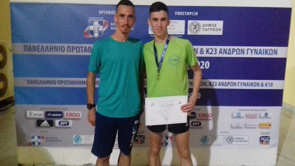 Στίβος: Κώστας και Νίκος Σταμούλης κάνουν περήφανο το Αγρίνιο