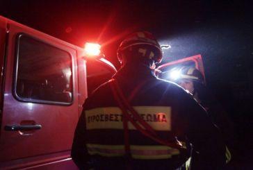 Ζημιές από φωτιά σε ξενοδοχείο του Θέρμου