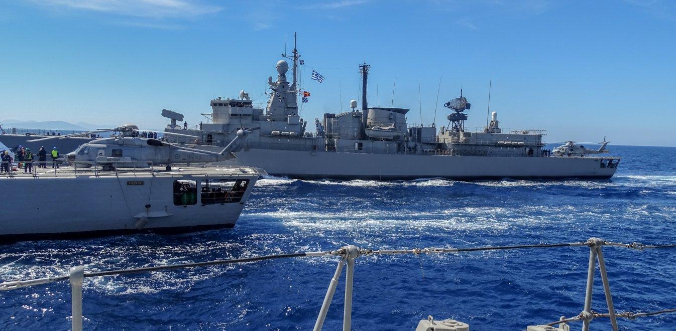 Oruc Reis: Με αντί-Navtex για άσκηση με πραγματικά πυρά απαντά η Ελλάδα στην τουρκική προκλητικότητα