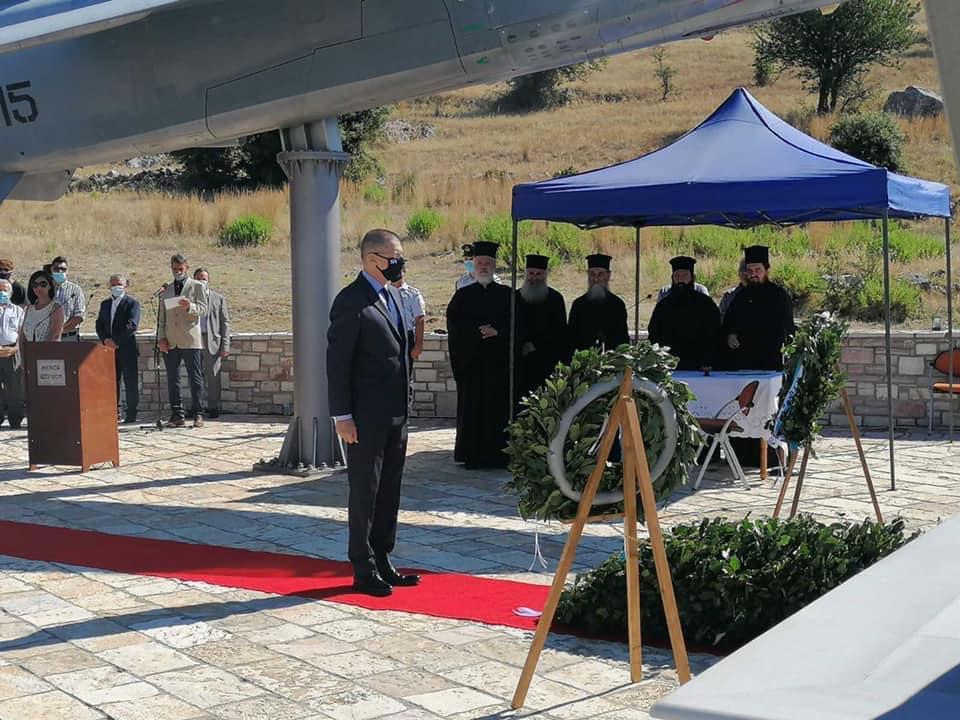 Θέρμο: παρουσία Στεφανή τιμήθηκε η μνήμη των Πεσόντων Αεροπόρων