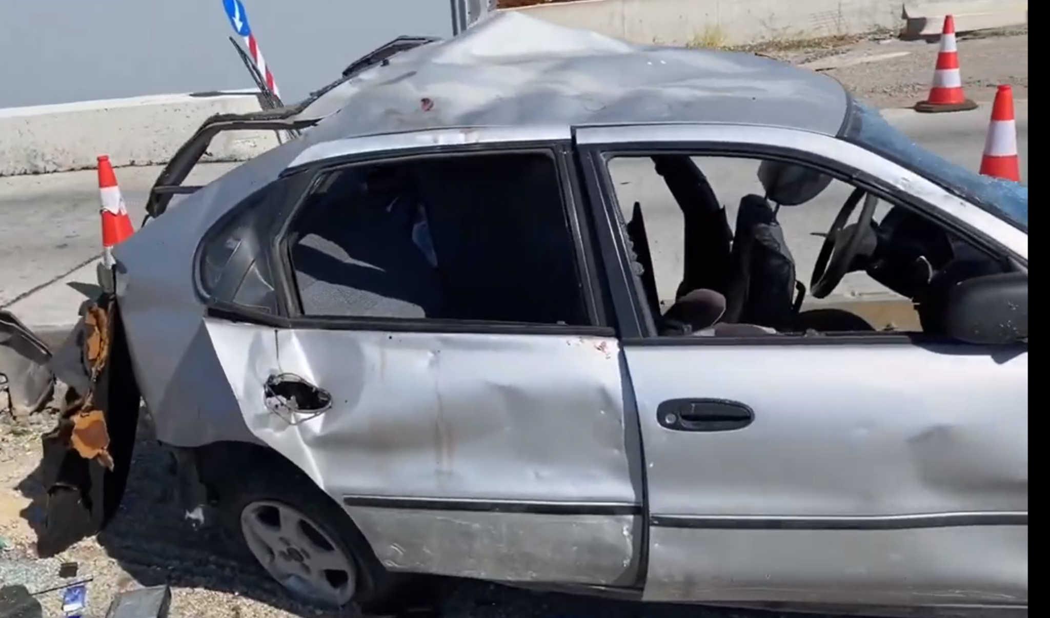 """Αλεξανδρούπολη: Οι πρώτες εικόνες από το δυστύχημα με 7 νεκρούς – Είχαν """"παστώσει"""" 12 άτομα σε ένα αυτοκίνητο!"""