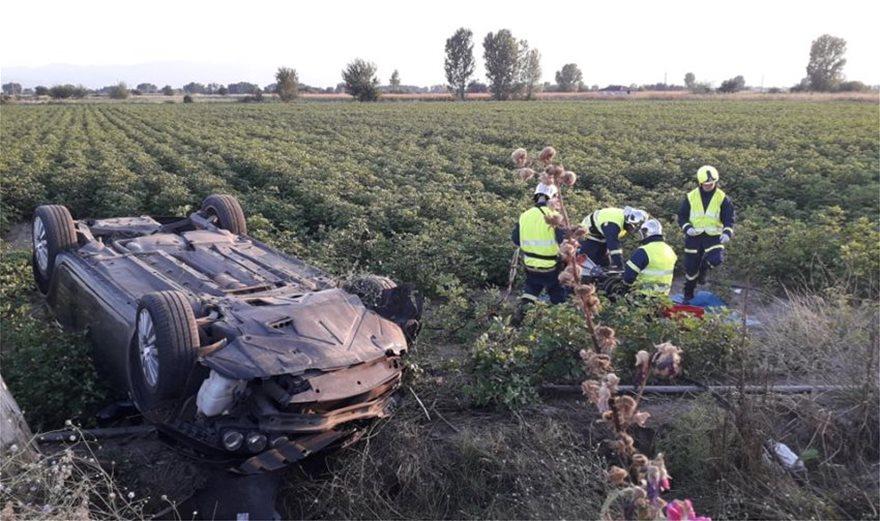 Τροχαίο στα Τρίκαλα: ΙΧ έπεσε πάνω σε κολόνα της ΔΕΗ – Νεκρός ο 50χρονος οδηγός