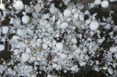 Σφοδρή χαλαζόπτωση Αύγουστο μήνα στην Καστοριά- Ζημιές σε σπίτια και καλλιέργειες