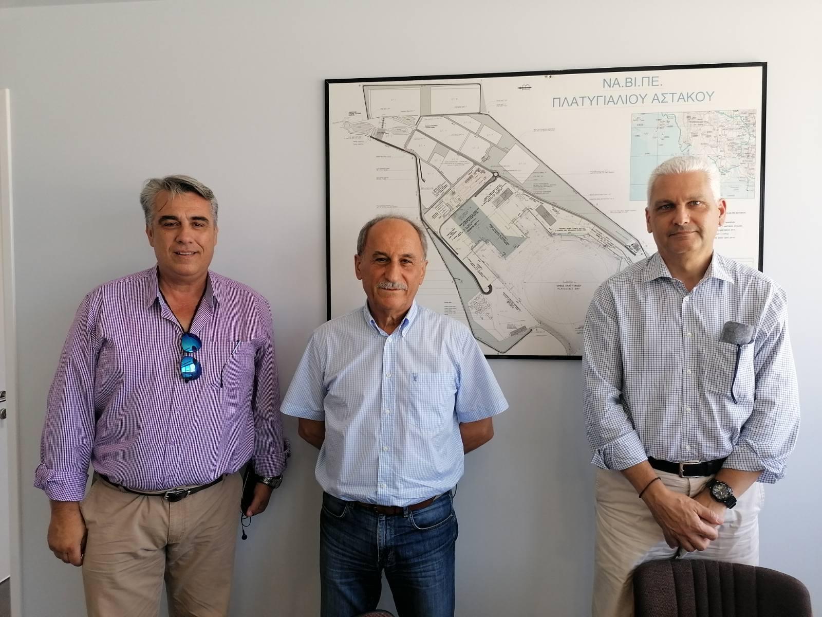 Επίσκεψη του Αντιπεριφερειάρχη Φωκίωνα Ζαΐμη στο Λιμάνι Πλατυγιαλίου