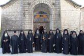 Κουρά νέου Μοναχού στην Ιερά Μονή Αμπελακιωτίσσης Ναυπακτίας
