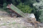 Εκτροπή φορτηγού και στο δρόμο Πρόδρομος-Αγράμπελο