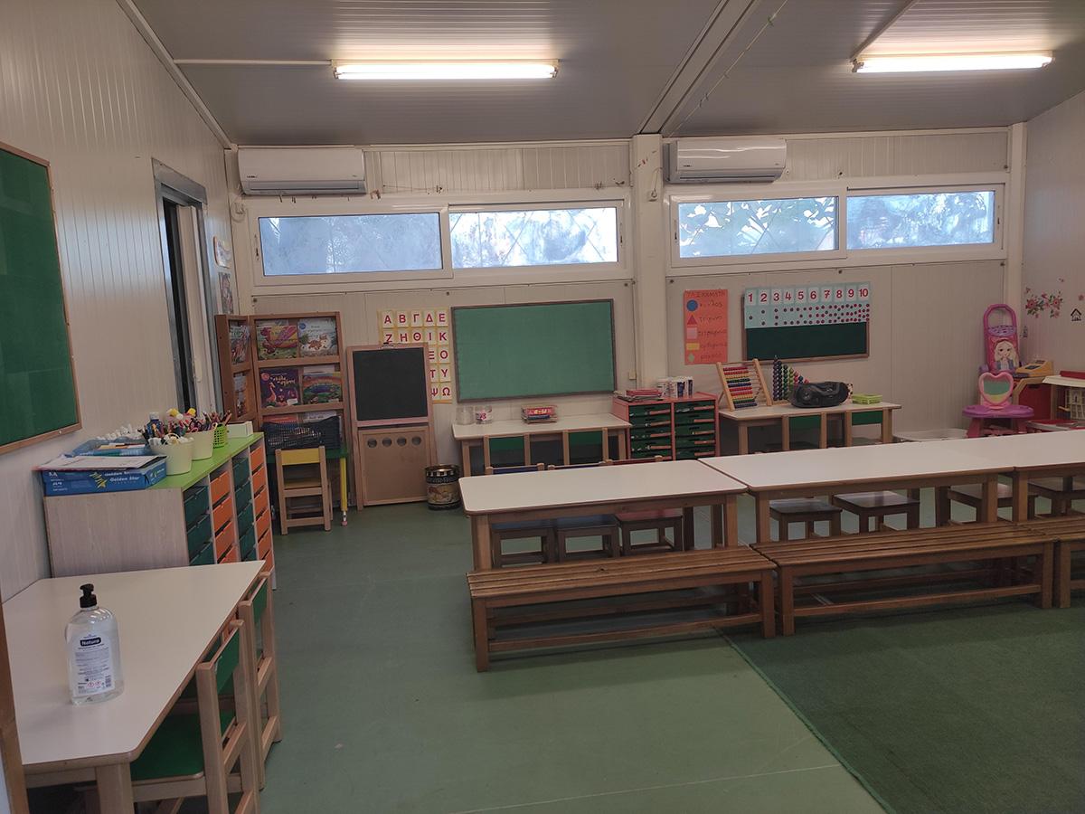 Προκατασκευασμένες αίθουσες για 10 σχολικές μονάδες ζήτησε ο δήμος Αγρινίου