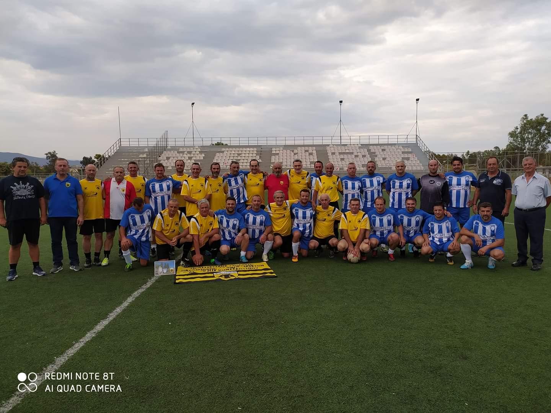 Φιλικός αγώνας βετεράνων AEM – AEK Αγίου Κωνσταντίνου
