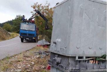 Στην απόσυρση των παλαιών κάδων απορριμμάτων προχώρησε ο δήμος Αγράφων