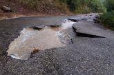 Έγινε κομμάτια ο δρόμος στην Αμπελακιώτισσα Ναυπακτίας