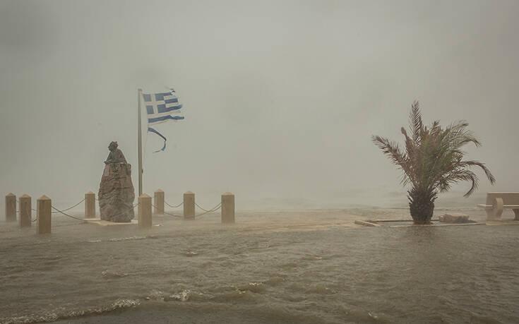Καιρός: Τα 8 μεγαλύτερα ύψη βροχής του Ιανού – Ψυχρότερο το Ιόνιο μετά το πέρασμά του