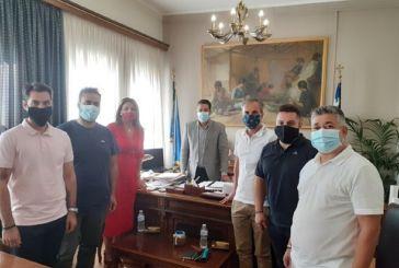 Πλούσια η ατζέντα στη συνάντηση του Εμπορικού Συλλόγου με τον δήμαρχο Αγρινίου