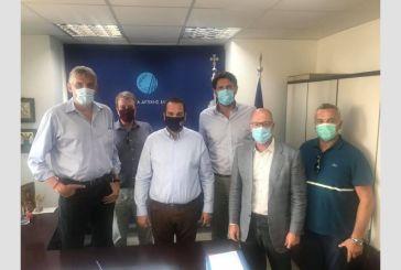 Συνάντηση Φασούλα, Ρεντζιά με τον Περιφερειάρχη Δυτικής Ελλάδας