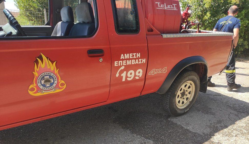 Συνελήφθη άνδρας για εμπρησμό από αμέλεια στο Άνω Κεράσοβο Μακρυνείας