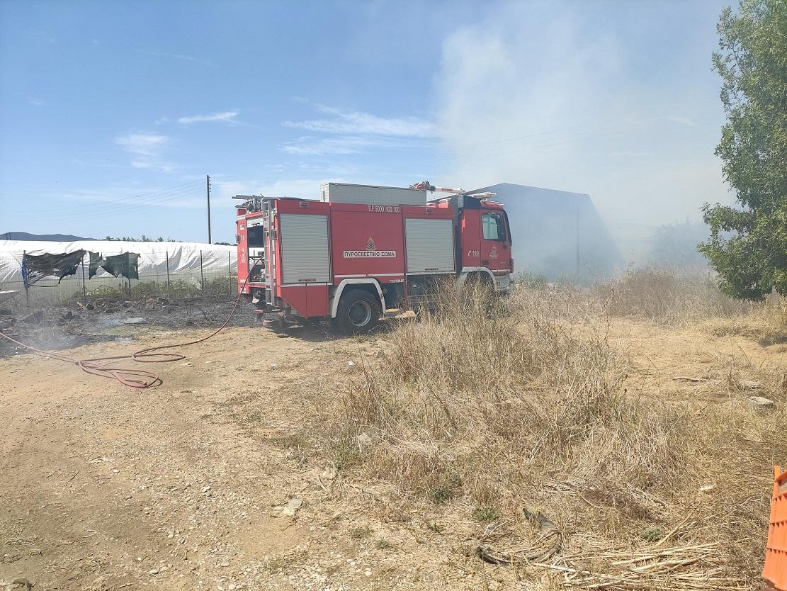 Παραμένει υψηλός ο κίνδυνος πυρκαγιών στην Αιτωλοακαρνανία και την Πέμπτη