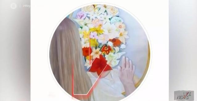Επίθεση με βιτριόλι: Ο πίνακας που συγκίνησε την 34χρονη Ιωάννα – Τι λέει η 16χρονη ζωγράφος