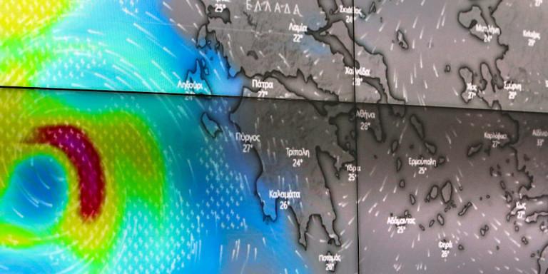 Πώς θα κινηθεί η κακοκαιρία «Ιανός»: Ξεκίνησαν οι πρώτες ισχυρές βροχές στη Ζάκυνθο -Δείτε βίντεο