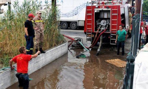 Συγκέντρωση τροφίμων για τους πληγέντες της Καρδίτσας από τον Ελληνικό Ερυθρό Σταυρό Αγρινίου