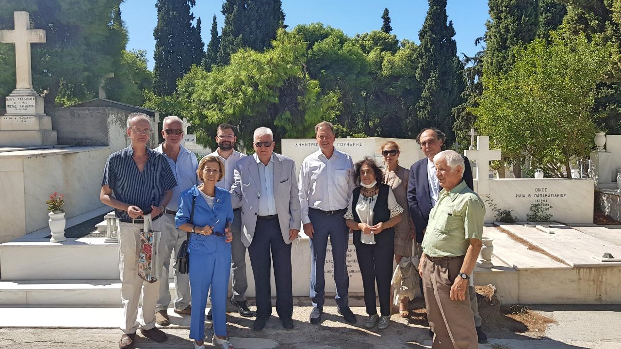 O Σπήλιος Λιβανός για τη συμπλήρωση 34 ετών από τον θάνατό του Παναγιώτη Κανελλόπουλου