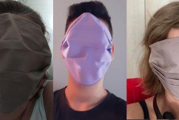 Κάποιες μάσκες σε σχολεία του Αγρινίου μάλλον πήγαιναν για… ποδιές!
