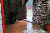 Θλίψη για τις ζημιές στο Μοναστήρι του Αη Γιάννη Προδρόμου στην Ανάληψη (φωτό)