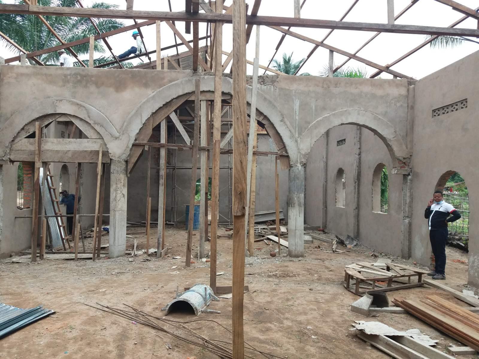 Προχωρούν οι εργασίες ανέγερσης Ι.Ν. Αγίου Παϊσίου του Αγιορείτου στην Κανάγκα του Αγρινιώτη Μητροπολίτη Θεοδόσιου