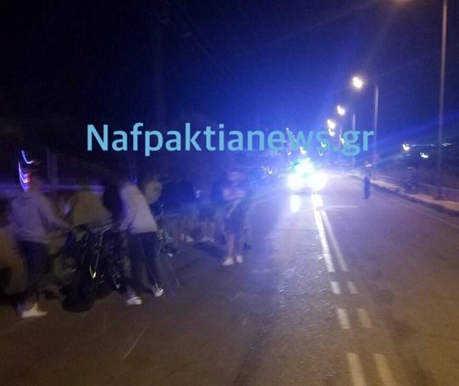 Ναύπακτος: Σοβαρό τροχαίο με δύο τραυματίες στην περιοχή του Σκα