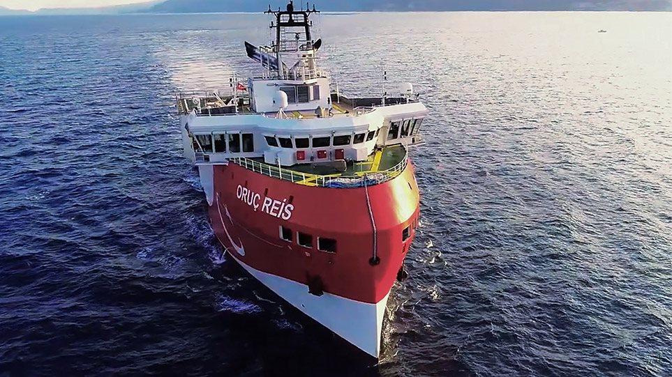 Προς τα τουρκικά παράλια πλέει το Oruc Reis – Δεν ανανεώθηκε η NAVTEX από την Άγκυρα
