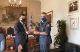 Συνάντησε τον δήμαρχο ο νέος διοικητής της Τροχαίας Αγρινίου