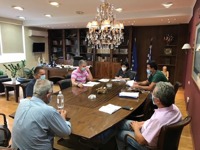 Έκτακτη συνεδρίαση του Συντονιστικού Πολιτικής Προστασίας Αιτωλοακαρνανίας