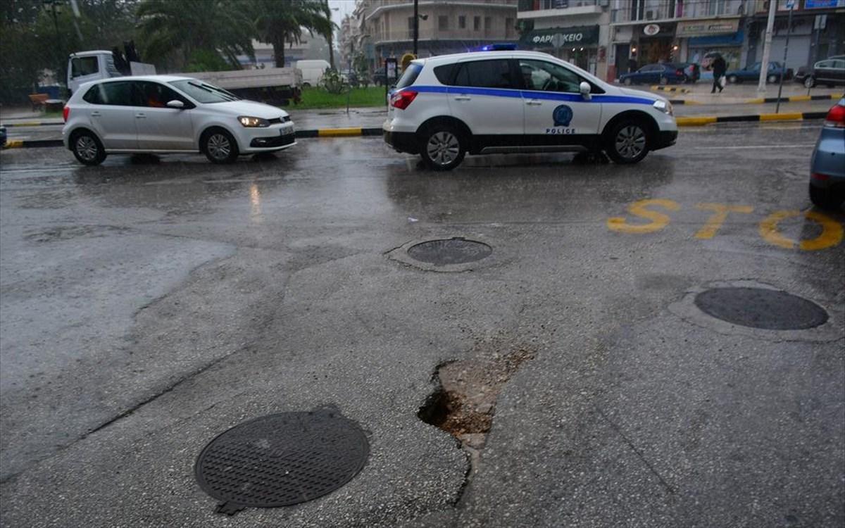 Αιτωλοακαρνανία: Ο «Ιανός» έφερε κυκλοφοριακές ρυθμίσεις- Σε ισχύ μέχρι το πέρας της κακοκαιρίας