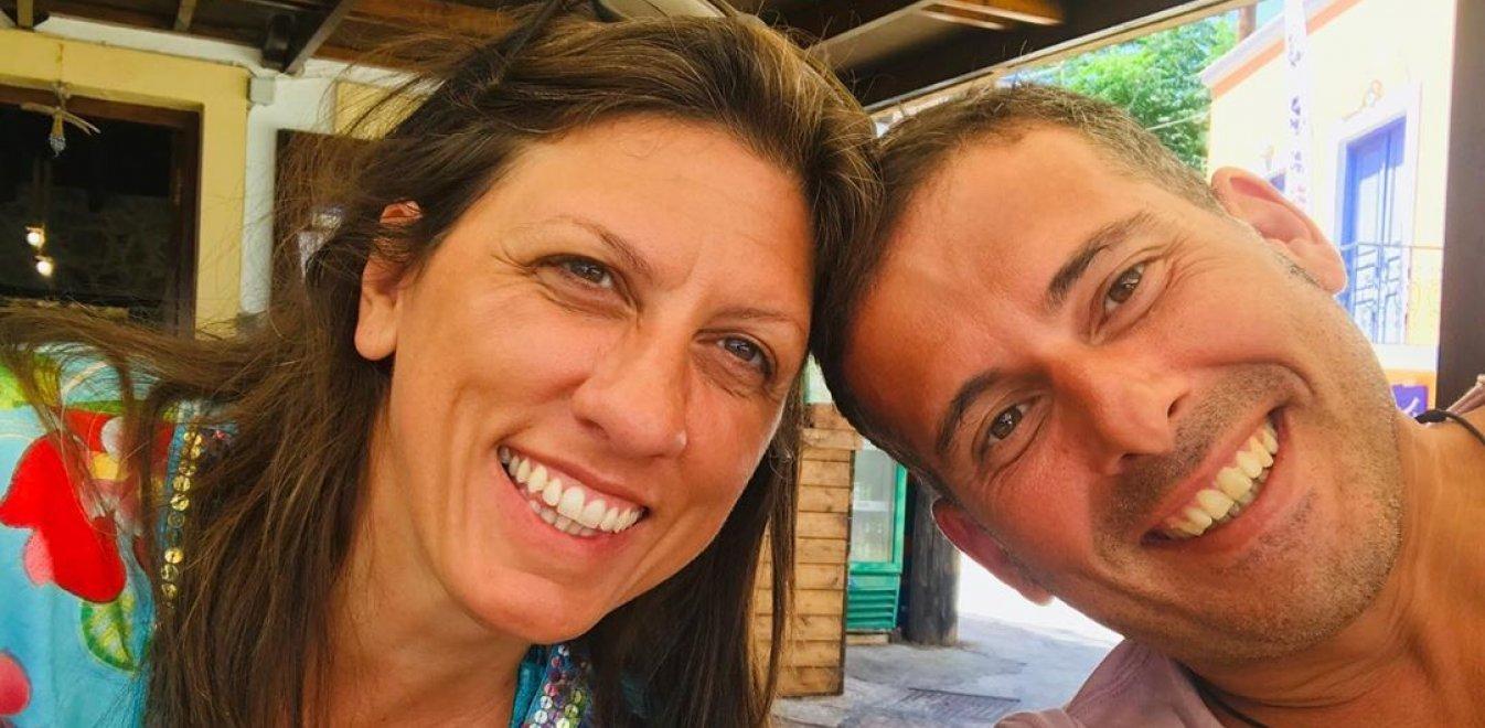 Ζωή Κωνσταντοπούλου: Ο σύντροφός της, Διαμαντής Καραναστάσης εκφράζει την αγάπη του